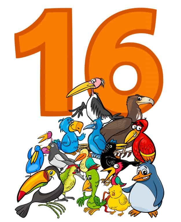 16 Harfli Hayvanlar